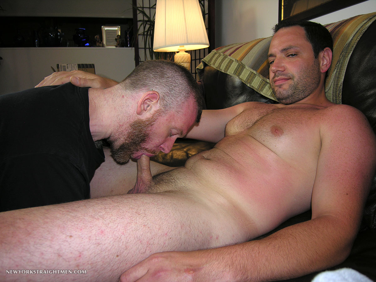 New York Straight Men Jack and Sean Straight Guy Getting Blowjob From Gay Guy Amateur Gay Porn 10 Bicurious Beefy NYC Guy Gets His First Blowjob From Another Guy