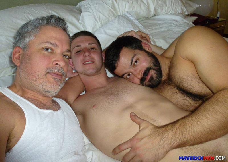 Maverick-Men-Tom-Straight-Twink-Virgin-Barebacks-Two-Hairy-Daddy-Cocks-Amateur-Gay-Porn-5 Amateur Bisexual Virgin Twink Rides Two Hairy Daddy Cocks