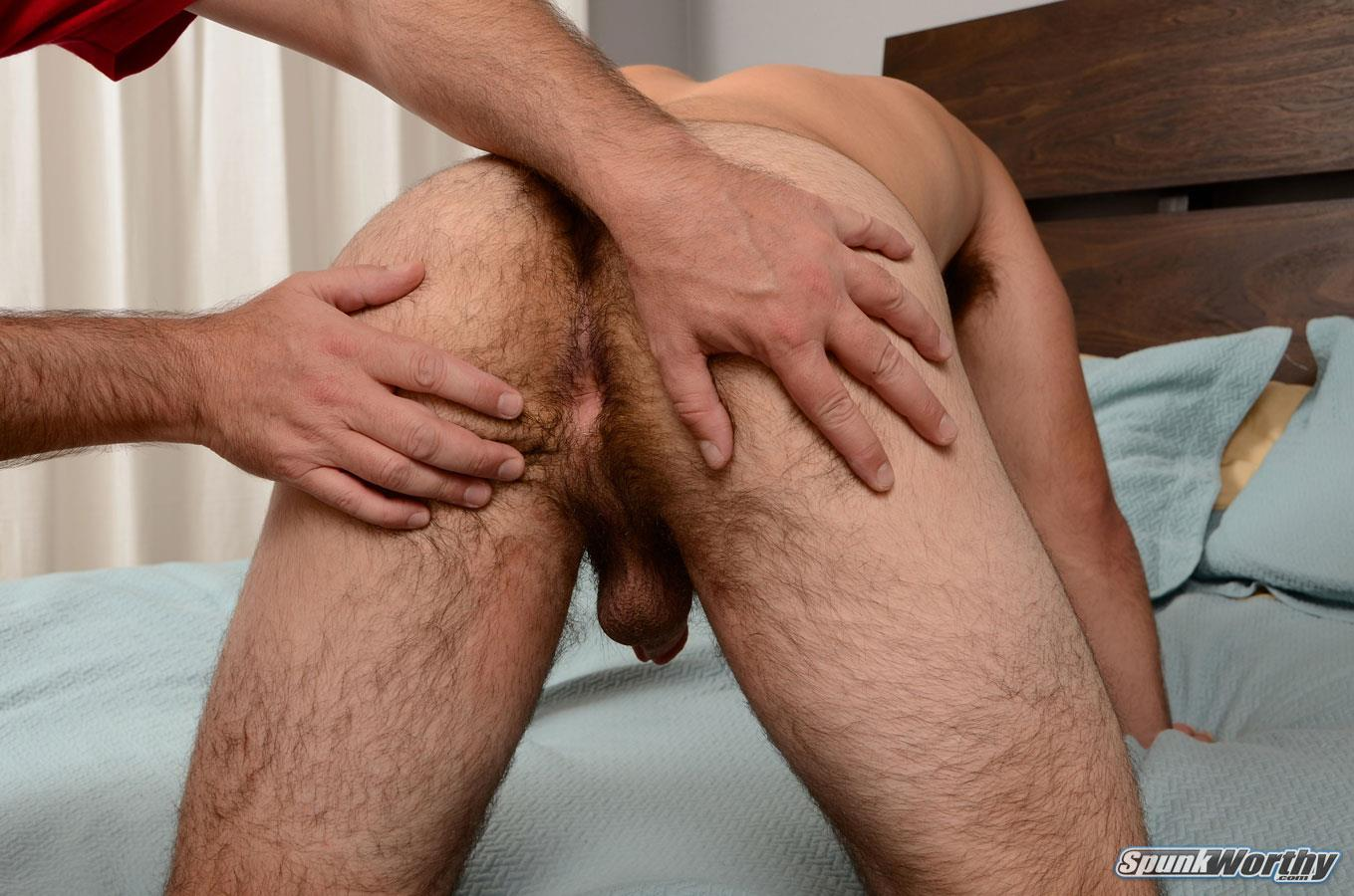 SpunkWorthy Nevin Straight Marine With A Hairy Ass Getting A Gay Blowjob Amateur Gay Porn 08 Straight Marine Gets Jerked and Sucked By Another Guy