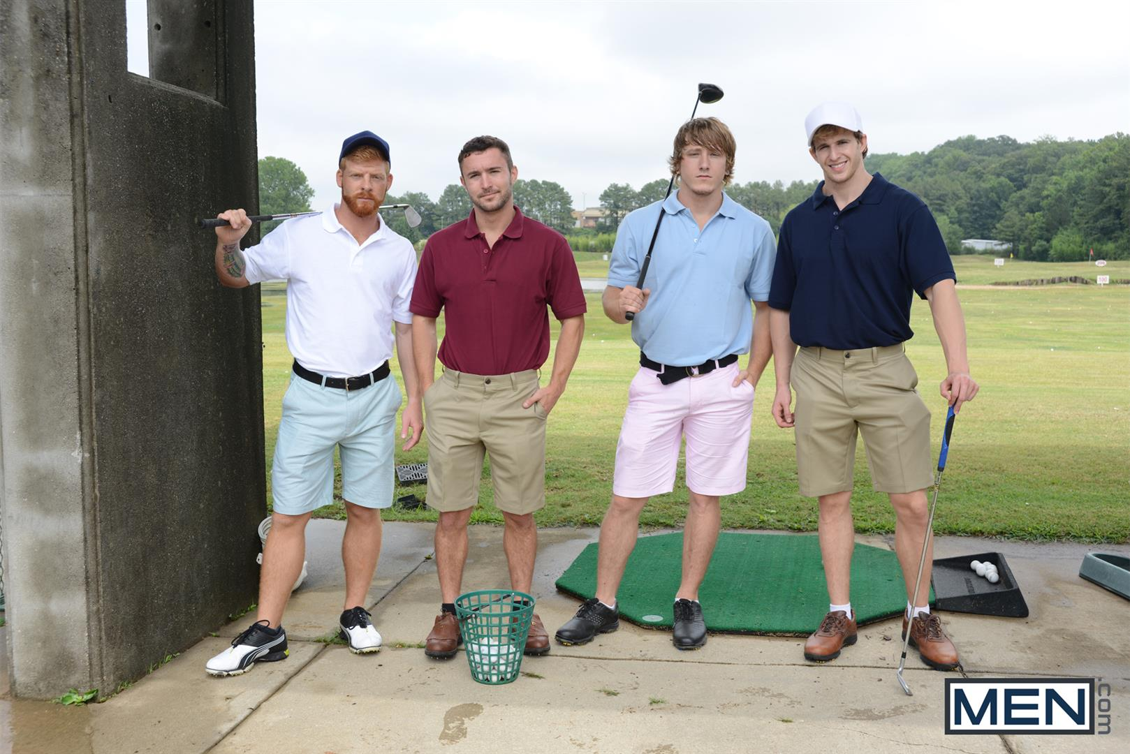 Men-Jizz-Orgy-Swingers-Bennett-Anthony-and-Cameron-Foster-and-Colt-Rivers-and-Tom-Faulk-Fucking-Bathroom-Amateur-Gay-Porn-21 Hung Golfing Buddies Fucking In The Bathroom and Clubhouse