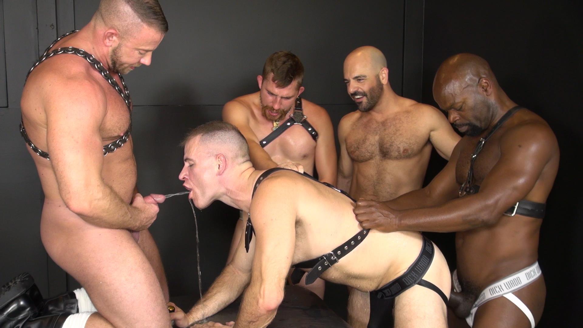 Raw and Rough Ken Byker Dayton OConnor Trelino Shay Michaels Adam Russo Cutler X Interracial Bareback Orgy Amateur Gay Porn 05 Interracial Bareback Orgy With Adam Russo & Cutler X