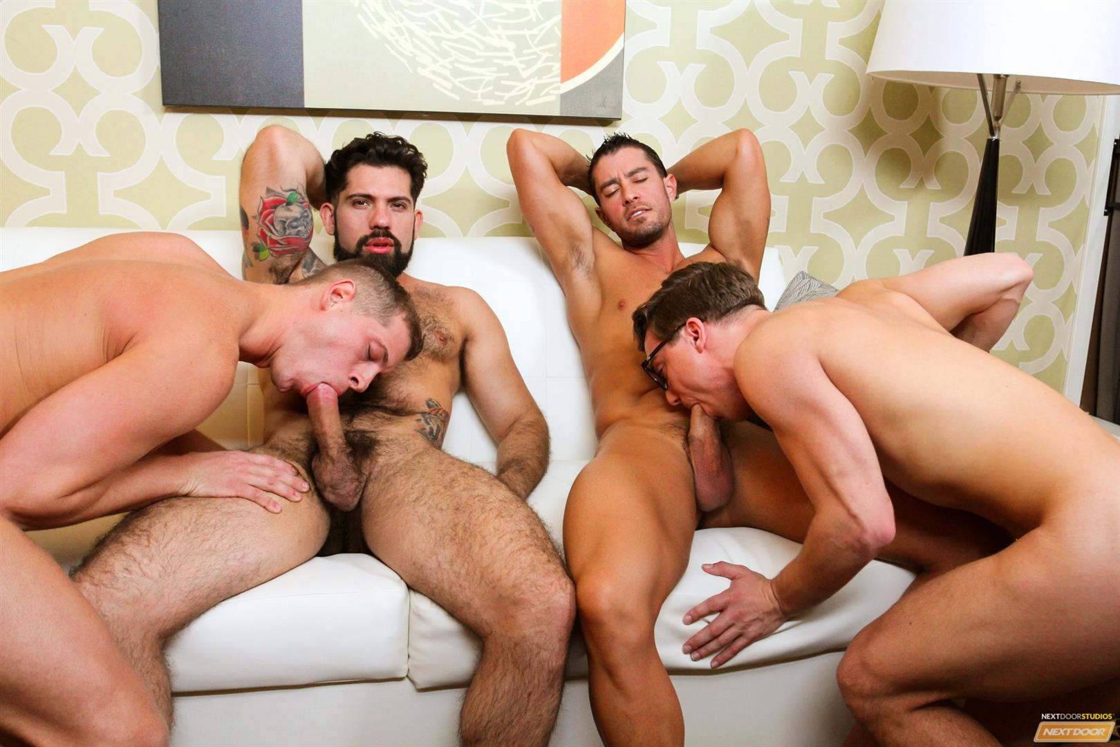 Cody Cummings and Tyler Morgan and Alessandro Del Torro Cock Sucking Lessons Amateur Gay Porn 15 Cody Cummings Gives The Boys Cock Sucking Lessons