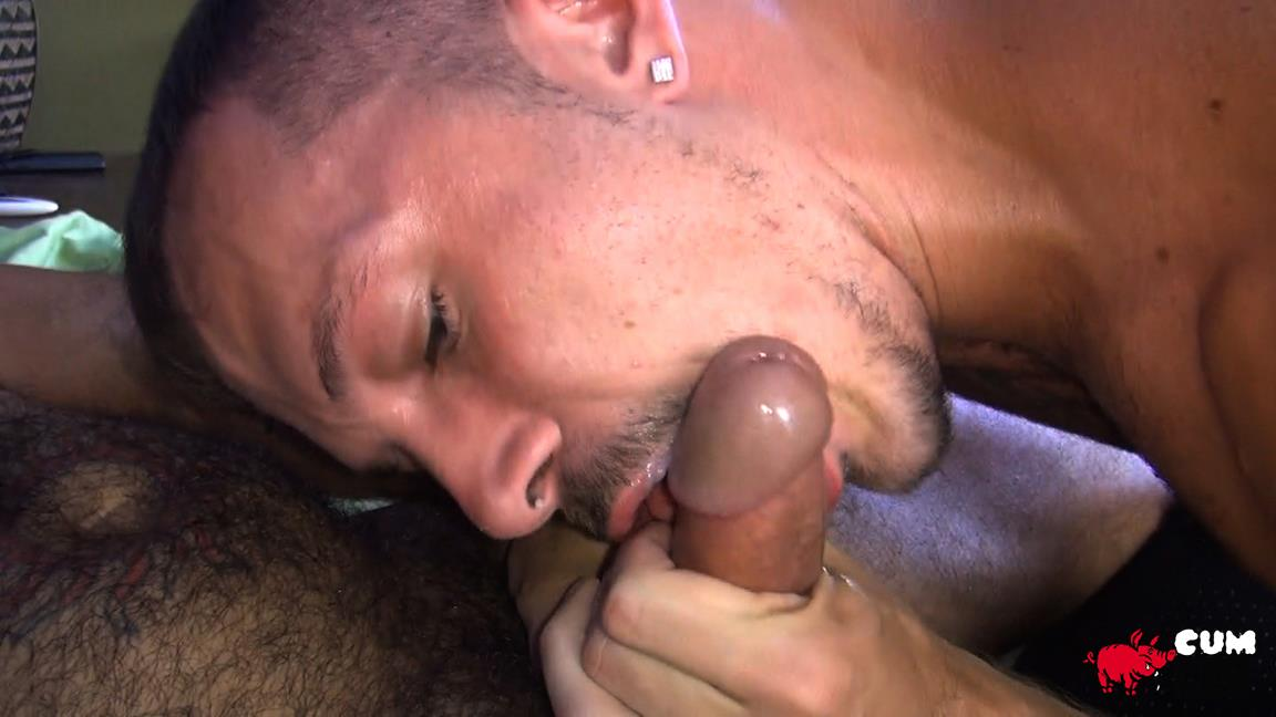 Cum Pig Men Jimmie Slater and Alessio Romero Hairy Muscle Daddy Getting Blow Job Amateur Gay Porn 41 Jimmie Slater Sucks A Load Of Cum Out Of Hairy Muscle Daddy Alessio Romero