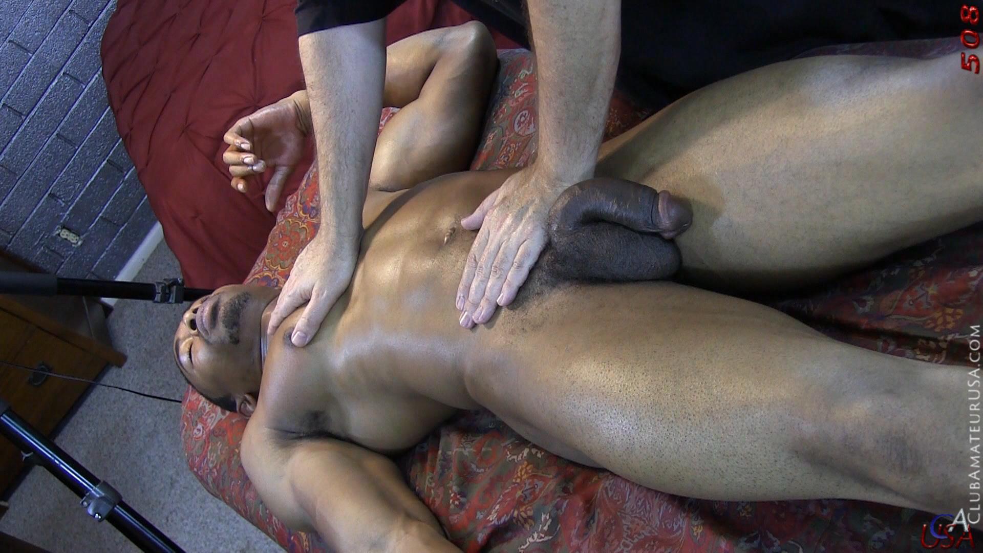 amateur massage black