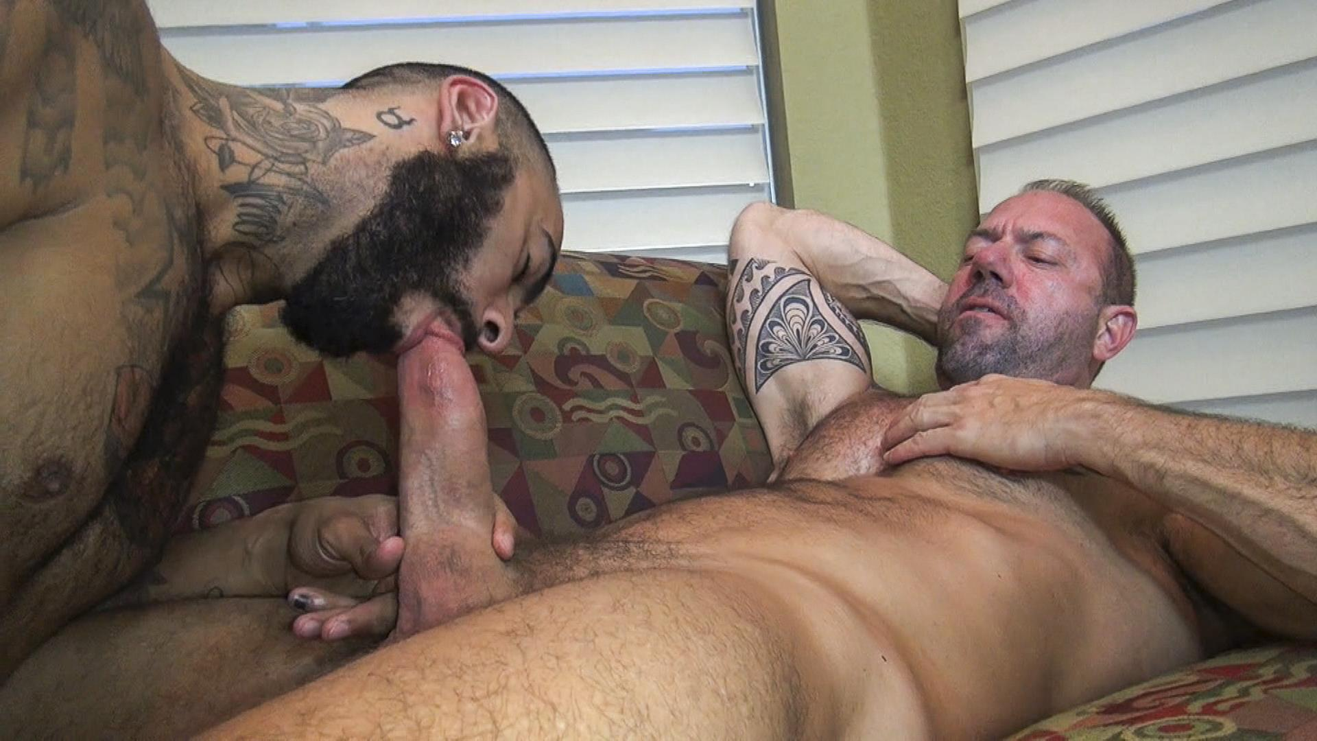 Raw-Fuck-Club-Vic-Rocco-and-Rikk-York-and-Billy-Warren-and-Job-Galt-Bareback-Daddy-Amateur-Gay-Porn-02 Four Hairy Muscle Daddies In A Bareback Fuck Fest Orgy