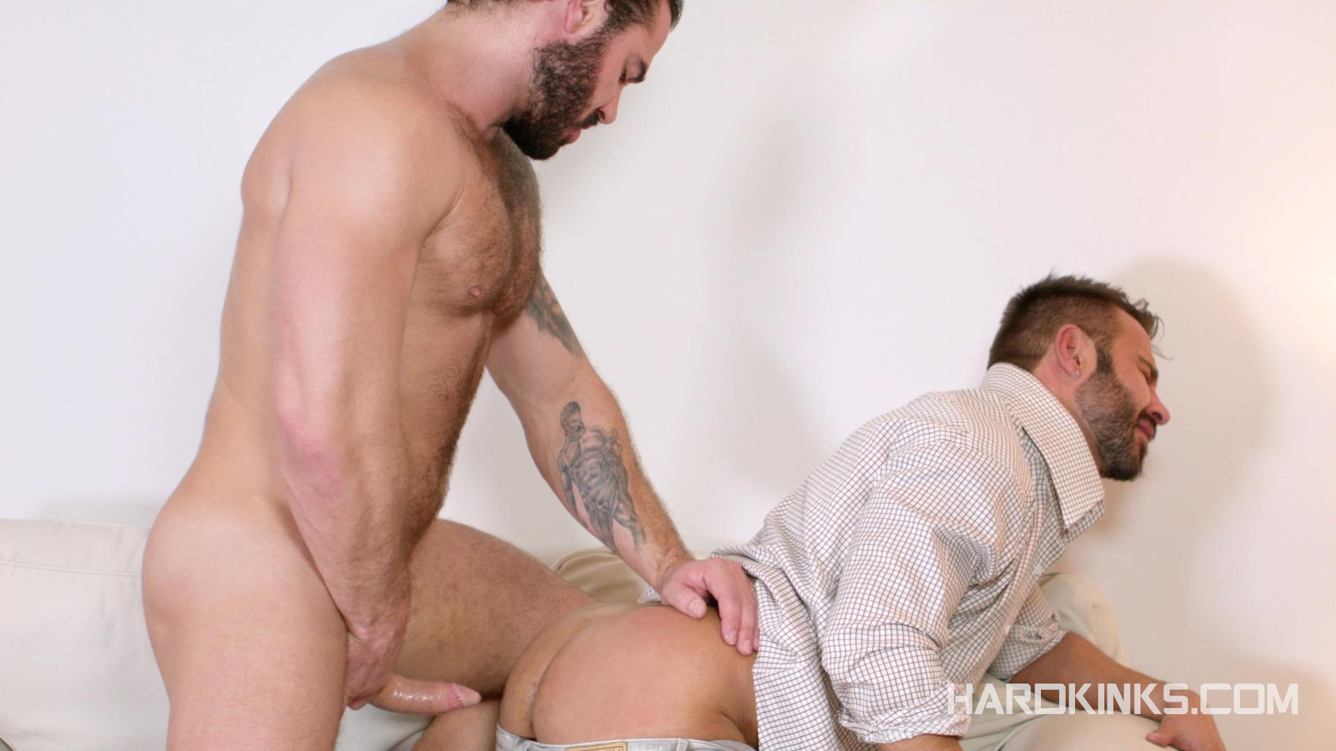 Hardkinks-Jessy-Ares-and-Martin-Mazza-Hairy-Alpha-Male-Amateur-Gay-Porn-11 Hairy Muscle Alpha Male Dominates His Coworker