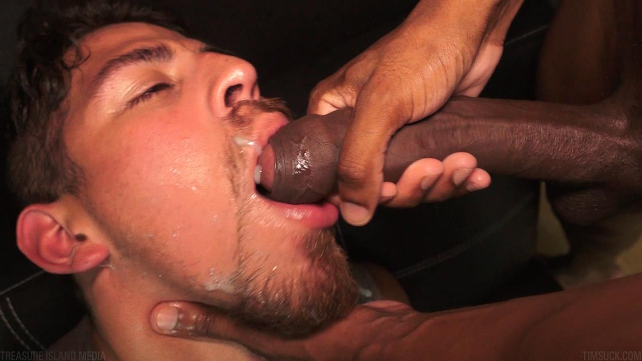 Treasure-Island-Media-TimSUCK-Tecate-and-Javin-Big-Black-Uncut-Cock-Sucking-Amateur-Gay-Porn-48 Treasure Island Media: Gagging On A 13 Inch Big Black Uncut Cock