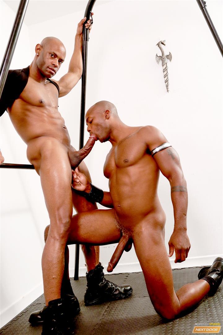 Marlone-Starr-and-Osiris-Blade-Next-Door-Ebony-Big-Black-Cocks-Fucking-Amateur-Gay-Porn-11 Osiris Blade Takes Marlone Starr's Massive Horse Cock Up The Ass