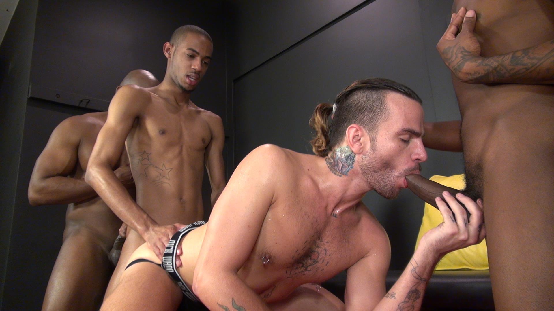 Raw-and-Rough-Champ-Robinson-Lukas-Cipriani-Knockout-Tigger-Redd-BBBH-Amateur-Gay-Porn-18 White Boy Gets A Breeding By Three Big Black Dicks