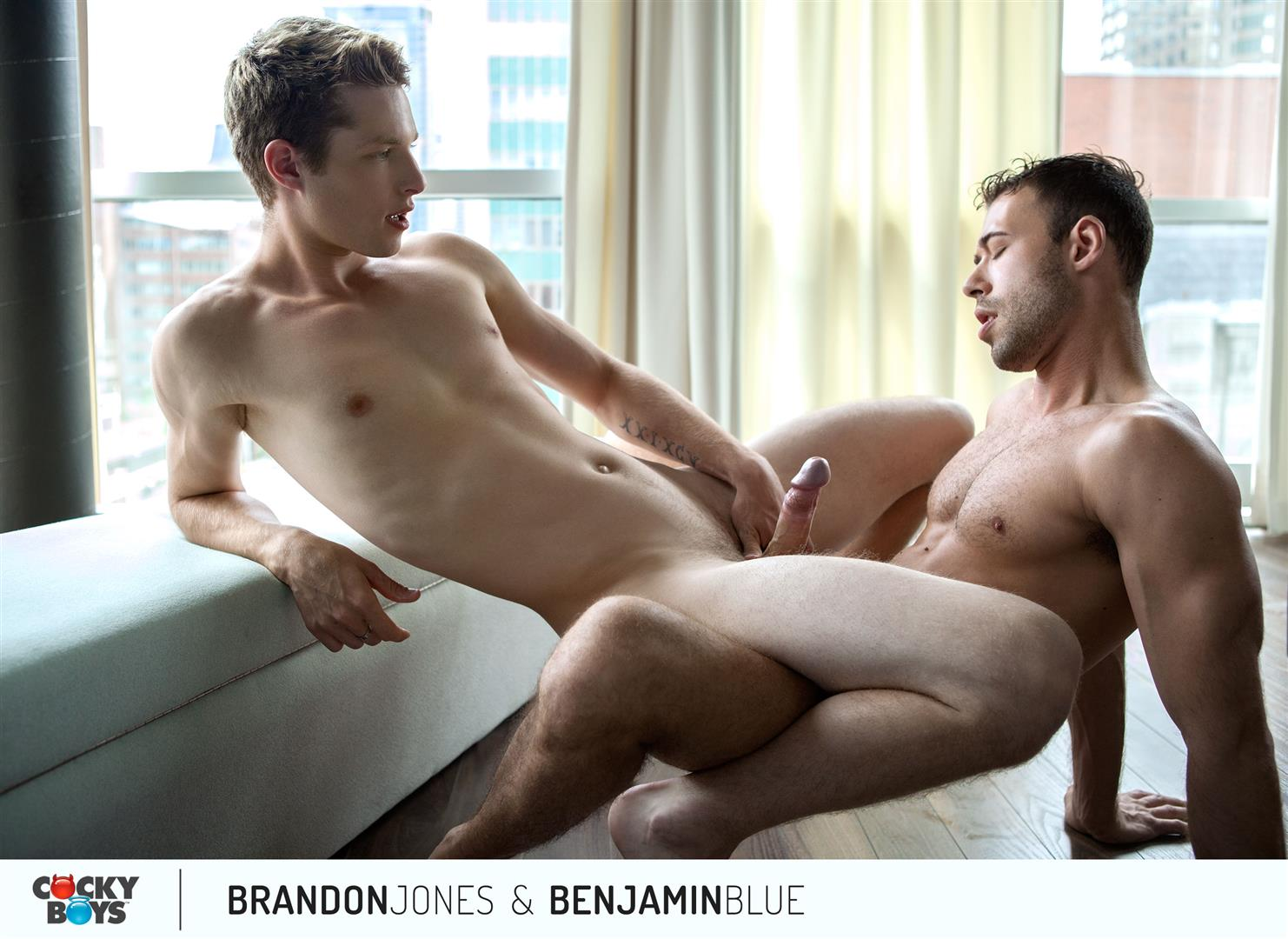Cockyboys-Benjamin-Blue-and-Brandon-Jones-Flip-Flop-Fuck-Amateur-Gay-Porn-23 Cockyboys: Benjamin Blue Tops Brandon Jones For The First Time