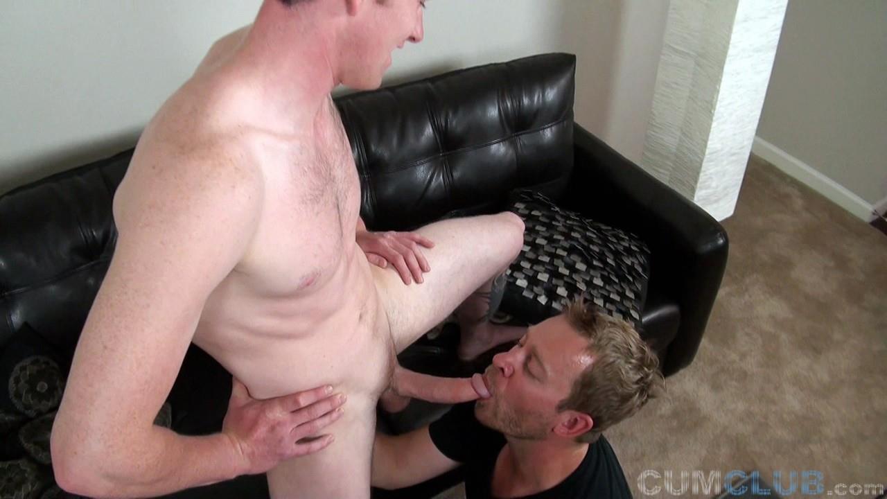 Cum-Club-Aaron-and-Alexander-Big-Cock-Ginger-Getting-Blowjob-48 Big Dick Ginger Gets A Blow Job And Gives A Huge Cum Facial