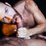Raging-Stallion-Drake-Masters-and-James-Stevens-hairy-guys-cum-facial-13-150x150 Hairy Muscle Bear Drake Masters and Otter James Stevens Swap Cum Facials