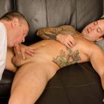 SpunkWorthy-Naked-Marine-Getting-First-Blowjob-From-Guy-12-150x150 Straight Marine Gets His First Ever Blowjob From Another Man